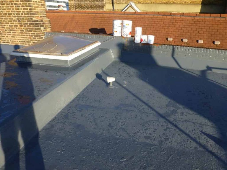 new epdm roof installed